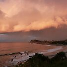 The Sunset Reflection! from Second Head, Forster. N.S.W.  by Rita Blom