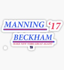 Eli and Odell: Make New York Great Again! Sticker