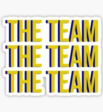 The Team x3 Sticker
