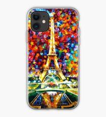 paris of my dreams - Leonid Afremov iPhone Case