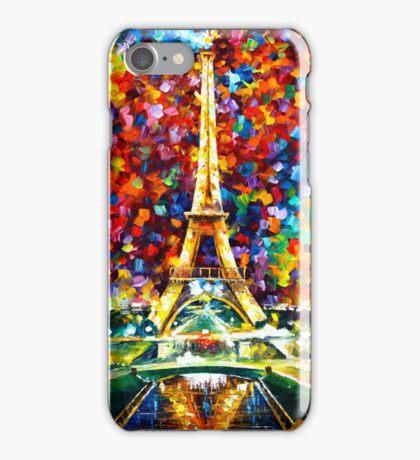 paris of my dreams - Leonid Afremov iPhone Case/Skin