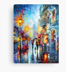 Melody of Passion - Leonid Afremov Metal Print