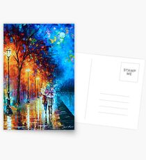Love by The Lake - Leonid Afremov Postcards