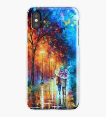 Love by The Lake - Leonid Afremov iPhone Case