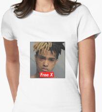 Free X - xxxtentacion Womens Fitted T-Shirt