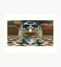 Spherical Refractions IV Art Print