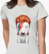 Ziggy the Bull Terrier Womens Fitted T-Shirt