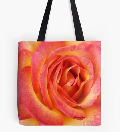 Celebrate Joy with a Perfect Rose! Tote Bag