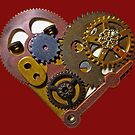 Steampunk Heart by whimsystation