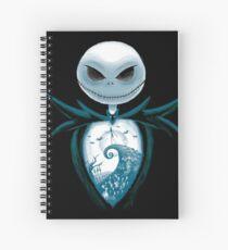 Inner Halloween Spiral Notebook