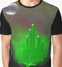 Emerald City Skyline 1 Graphic T-Shirt