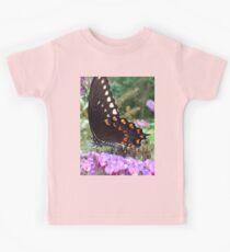 Spice Bush Swallowtail Butterfly Kids Tee