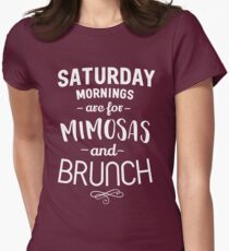 Saturday Mornings are for Mimosas and Brunch T-Shirt