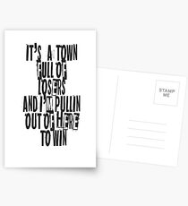 Town for the losers Postcards