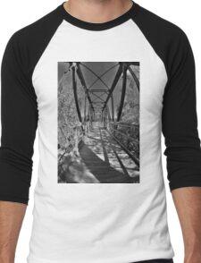 Harry Easterling Bridge Peak SC Black And White 2 Men's Baseball ¾ T-Shirt