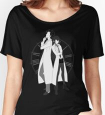 Mad scientist's pose Women's Relaxed Fit T-Shirt