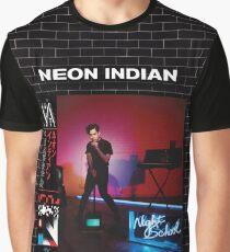 Neon Indian - Vega intl. Night School Graphic T-Shirt