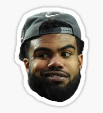 Ezekiel Elliott Sticker
