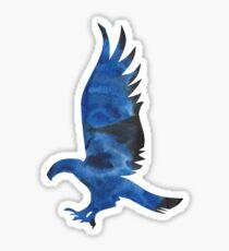House Eagle Watercolor Sticker