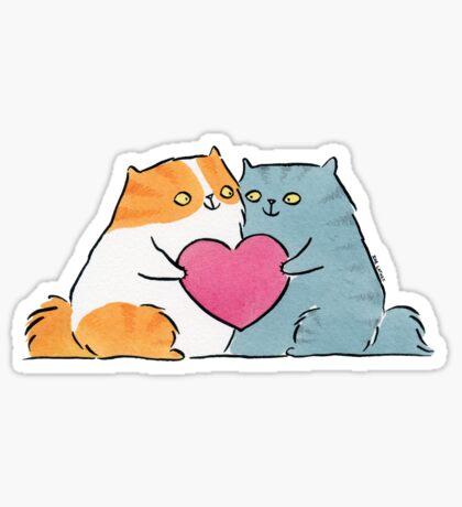 My Kitty Valentine Sticker