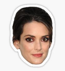 Winona Ryder Sticker