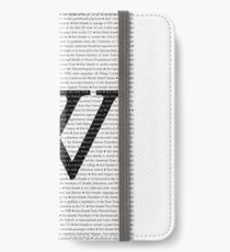 Wellesley College Firsts iPhone Wallet/Case/Skin