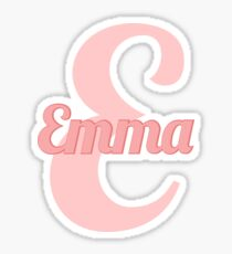Baby girl named Emma Sticker