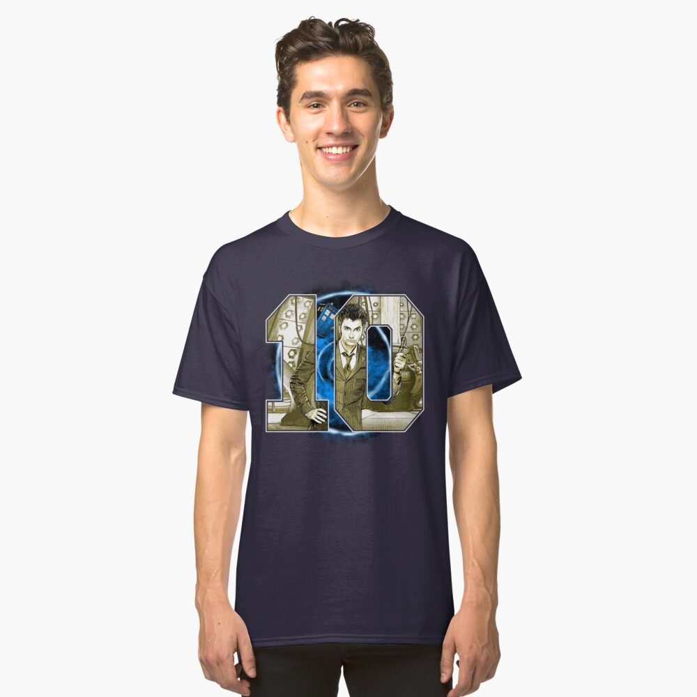 Number 10 Classic T-Shirt Front