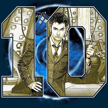 Number 10 by BadEye