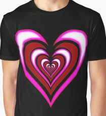 Infinity Hearts iPhone / Samsung Galaxy Case Graphic T-Shirt