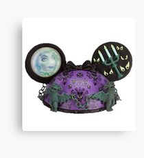 Haunted mansion ear hat ornament  Canvas Print
