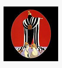 "Erte's Striking Art Deco Design ""Monaco"" Photographic Print"