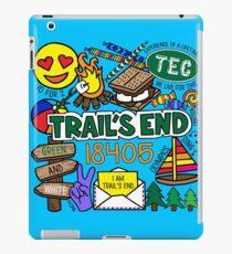 Trail's End Camp iPad-Hülle & Klebefolie