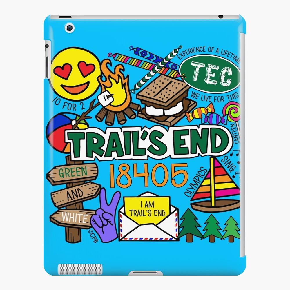 Campamento Trail's End Funda y vinilo para iPad
