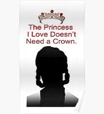 My Idol Needs No Crown Poster