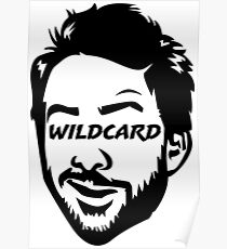 Wildcard bw Poster