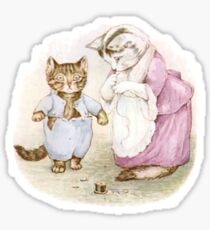 Beatrix Potter, Tom Kitten Sticker