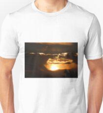 Peering Through T-Shirt