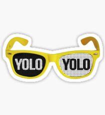 Yolo goggles Sticker