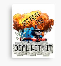 THOMAS MLG Canvas Print