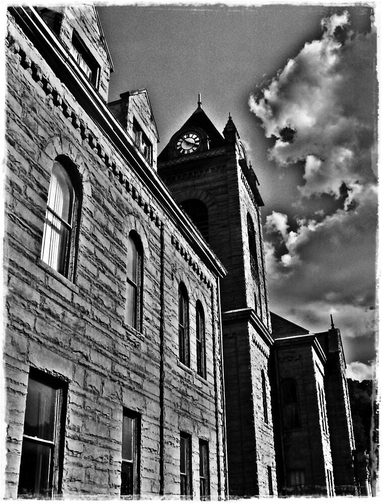 Up To The Clocktower by Paul Lubaczewski