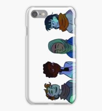 Northern Lights - rotated (for phone cases etc) iPhone Case/Skin