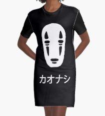 カオナシ Graphic T-Shirt Dress