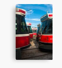 Bumper To Bumper Traffic Canvas Print