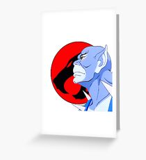 Panthro  Greeting Card