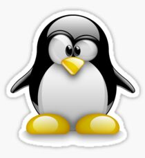 Linux Peguin Sticker