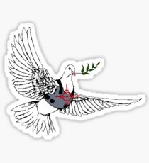 Bulletproof pidgeon Sticker