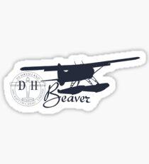 DeHavilland DH-2 Beaver Floatplane Sticker