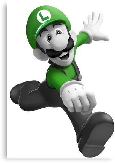 """Luigi, best friend (TO BUY IN COMBO WITH """"Mario, best friend"""") by mapletiani"""