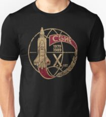 CCCP Space Shuttle X Unisex T-Shirt